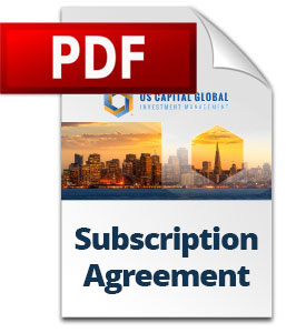 Subscription Agreement for Individuals